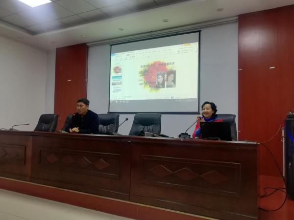 鲁艺学院开展淮剧讲座进社区活动